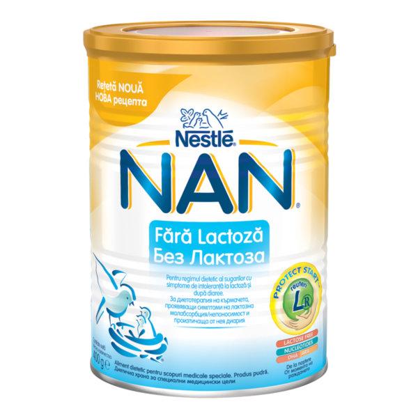 Nestle НАН Бебешко адаптирано мляко без лактоза /Lactose Free/ 400 гр.